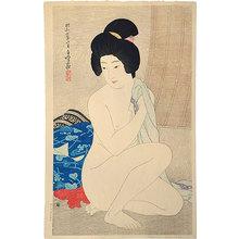 Hirano Hakuho: After the Bath (Yuagari) - Scholten Japanese Art