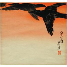 柴田是眞: Crows - Scholten Japanese Art