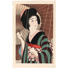 鳥居言人: Rain (Ame) - Scholten Japanese Art
