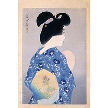 伊東深水: Evening Cool (Suzumi) - Scholten Japanese Art