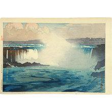 吉田博: The United States Series: Niagara Falls (Beikoku shirizu: Naiagura bakufu) - Scholten Japanese Art