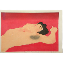 Paul Binnie: Red Reverse: Osamu Sleeping - Scholten Japanese Art