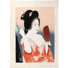 Domoto Insho: First Make-Up of the New Year (Hatsugesho) - Scholten Japanese Art