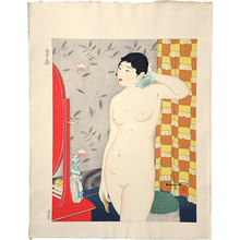 石川寅治: Ten Types of Female Nudes: Springtime of Life (Youth) (Rajo jusshu: Seishun) - Scholten Japanese Art