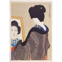 伊東深水: Black Collar (Kuroeri) - Scholten Japanese Art