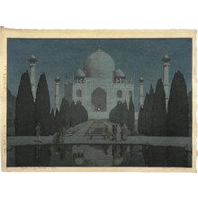 Yoshida Hiroshi: The Taj Mahal at Night No. 6 (Taji maharu no yoru dairoku) - Scholten Japanese Art