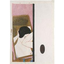 Onchi Koshiro: Mirror (Kagami) - Scholten Japanese Art