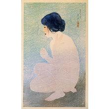 Ito Shinsui: Twelve Images of Modern Beauties: Bathing in Early Summer (Shin bijin junisugata: Shoka no yoku) - Scholten Japanese Art