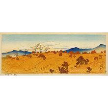 Kawase Hasui: Arauji in Shiobara (Shiobara no Arauji) - Scholten Japanese Art