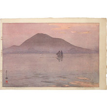 Yoshida Hiroshi: The Inland Sea Series: Evening After Rain (Seto uchi kaishu: Setonaikai shu: Ugo no yu) - Scholten Japanese Art