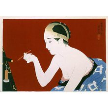 Ito Shinsui: Eyebrow Pencil (Mayuzumi) - Scholten Japanese Art