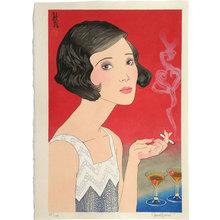 Paul Binnie: Flowers of a Hundred Years: A Modern Girl [of 1920] (Hyakunen no Hana: Senkyuhakunijuunen no Moga) - Scholten Japanese Art