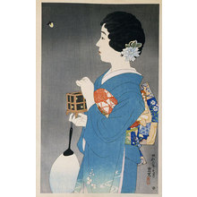 Ito Shinsui: The First Series of Modern Beauties: Catching Fireflies (Gendai bijinshu dai-isshu: Hotaru-gari) - Scholten Japanese Art