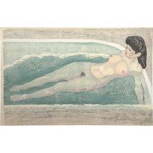 Sekino Jun'ichiro: Nude in Bath - Scholten Japanese Art