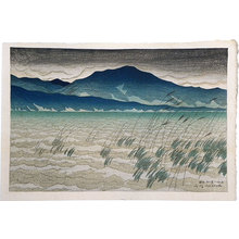 伊東深水: Eight Views of Omi: Mount Hira (Omi hakkei no uchi: Hira) - Scholten Japanese Art