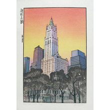Paul Binnie: Travels with the Master: New York Sunset (Meishou To No Tabi: Nyu-yoruku) - Scholten Japanese Art
