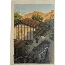 川瀬巴水: Nenoyama, Bushu (Bushu Nenoyama) - Scholten Japanese Art