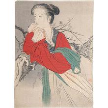 梶田半古: The Hermit in Floating Silk (Rafusen) - Scholten Japanese Art