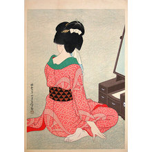 Hirano Hakuho: Before the Mirror (Kagami no mae) - Scholten Japanese Art
