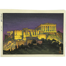 Paul Binnie: Travels with the Master: Acropolis - Night (Meishou To No Tabi: Acropolis no yoru) - Scholten Japanese Art