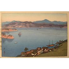 吉田博: The Inland Sea, Second Series: A Calm Day (Seto uchi kaishu dai ni: Seinaru hi) - Scholten Japanese Art