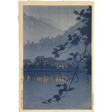 Kawase Hasui: Yumoto Spa, Nikko (Nikko Yumoto Onsen) - Scholten Japanese Art