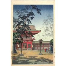 風光礼讃: Hakozaki Hachimangu Temple (Hakozaki Hachimangu) - Scholten Japanese Art