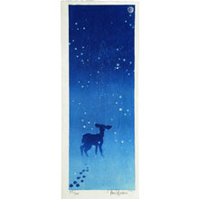 Paul Binnie: Deer in the Snow (Yuki ni Shika) - Scholten Japanese Art