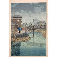 川瀬巴水: Shinagawa (Shinagawa) - Scholten Japanese Art