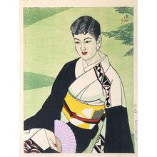 Ito Shinsui: Green Garden (Ryokutei) - Scholten Japanese Art