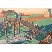 Katsushika Hokusai: The Hundred Poems [By the Hundred Poets] as Told by the Nurse: Ariwara no Narihira Ason [Rokkasen] (Hyakunin isshu uba ga etoki: Ariwara no Narihira Ason) - Scholten Japanese Art
