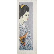 関野準一郎: Twelve Months of Maiko: Morning Glories ((Maiko juni kagetsu: Asagao)) - Scholten Japanese Art