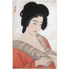 Asai Kiyoshi: The Geisha Ichimaru (Geisha Ichimaru) - Scholten Japanese Art