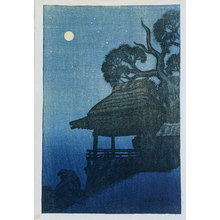 伊東深水: Eight Views of Omi: Ishiyamadera (Omi hakkei no uchi: Ishiyamadera) - Scholten Japanese Art