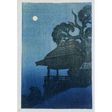 伊東深水: Eight Views of Omi: Ishiyamadera (Omi hakkei no uchi: Ishiyamadera) - Scholten Japanese Art