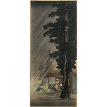 Takahashi Hiroaki: Evening Shower at Takaido (Takaido no yudachi) - Scholten Japanese Art