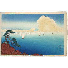 Friedrich Capelari: Matsushima Sailboats - Scholten Japanese Art