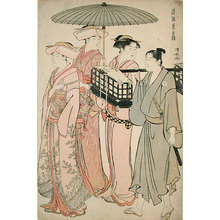 鳥居清長: Customs of the Eastern Capital (Fuzoku Azuma no Nishiki) - Scholten Japanese Art