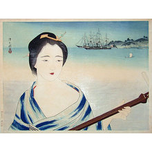 朝井清: The Mistress Okichi (of Townsend Harris) (Tojin Okichi) - Scholten Japanese Art