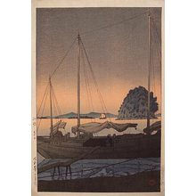 Kawase Hasui: Hayama in Iyo (Iyo no Hayama) - Scholten Japanese Art