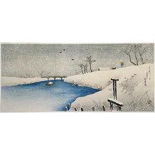 高橋弘明: Snow on Ayase River (Ayasegawa no Yuki) - Scholten Japanese Art