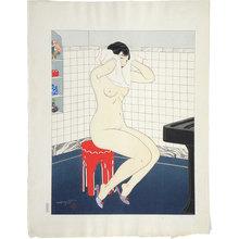 石川寅治: Ten Types of Female Nudes: Morning (Rajo jusshu: Asa) - Scholten Japanese Art