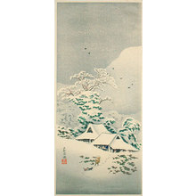 Takahashi Hiroaki: Sawatari in Joshu (Joshu Sawatari) - Scholten Japanese Art