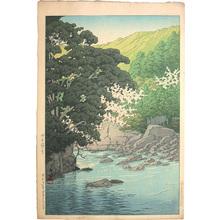 川瀬巴水: Yugashima, Ito (Ito Yugashima) - Scholten Japanese Art