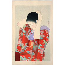 Torii Kotondo: Autumn Leaves (Momiji) - Scholten Japanese Art
