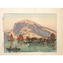 吉田博: Sanko Island (Sanhudao) - Scholten Japanese Art