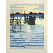 Sekino Jun'ichiro: Lake Ogawara (Ogawarako) - Scholten Japanese Art