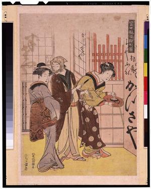 北尾政演: - Tokyo National Museum