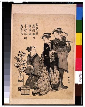 勝川春潮: - 東京国立博物館