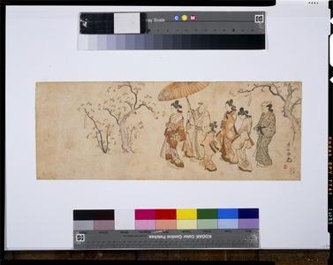 Torii Kiyonaga: - Tokyo National Museum